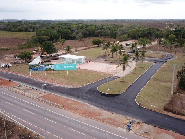 As obras do Palácio estão a todo vapor em Macapá